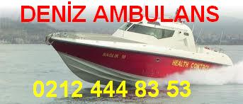 DENİZ AMBULANS ERDEK 0212 444 83 53